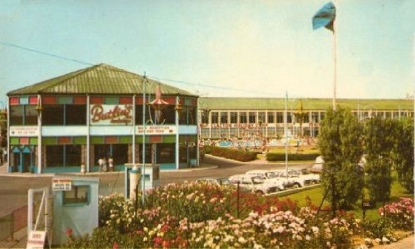 BUTLINS CLACTON postcards at Redcoats Reunited 1