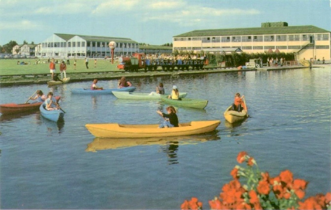 BUTLINS CLACTON BOATING LAKE