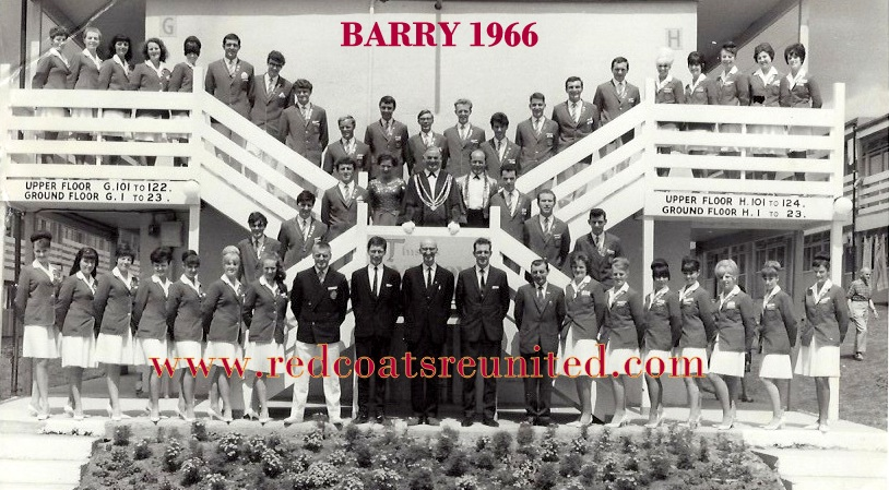 BARRY 1966 REDCOAT team