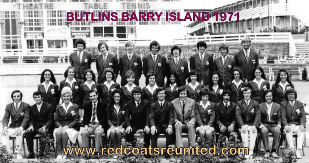 Butlins Barry 1971 at Redcotas Reunited