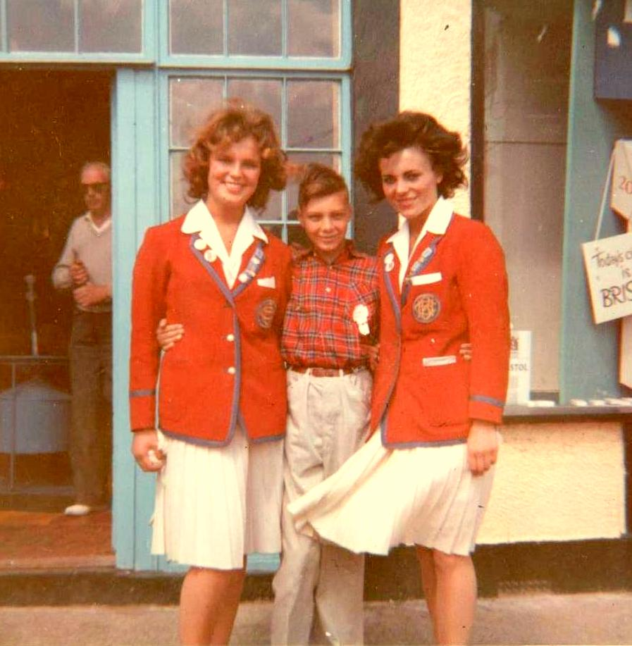 Butlins Clacton 1962 2 Redcoat girls at Redcoats Reunited