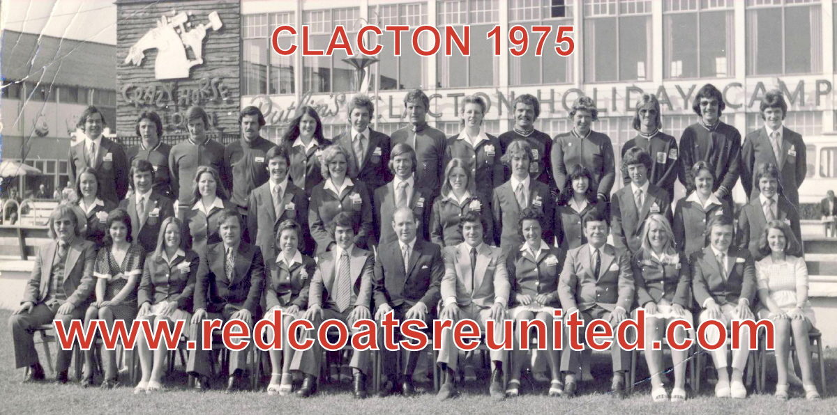Butlins Clacton 1975 Redcoats Reunited