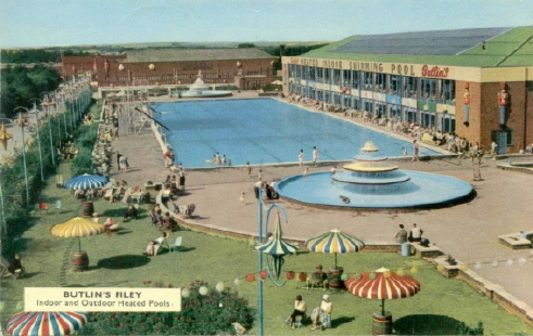 Butlins Filey postcards at Redcoats Reunited 1