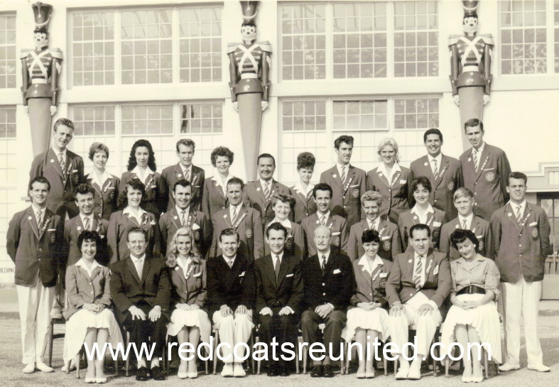 BUTLINS MARGATE REDCOATS 1960