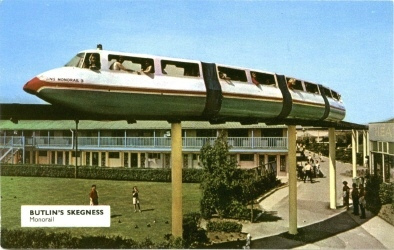 Butlins Skegness monorail Redcoats Reunited